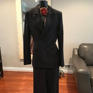 H&M Double breasted Wool Suit